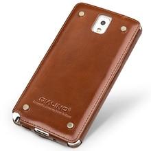 Qialino стиль чехол для Samsung Glaxay примечание 3 роскошный кожаный чехол