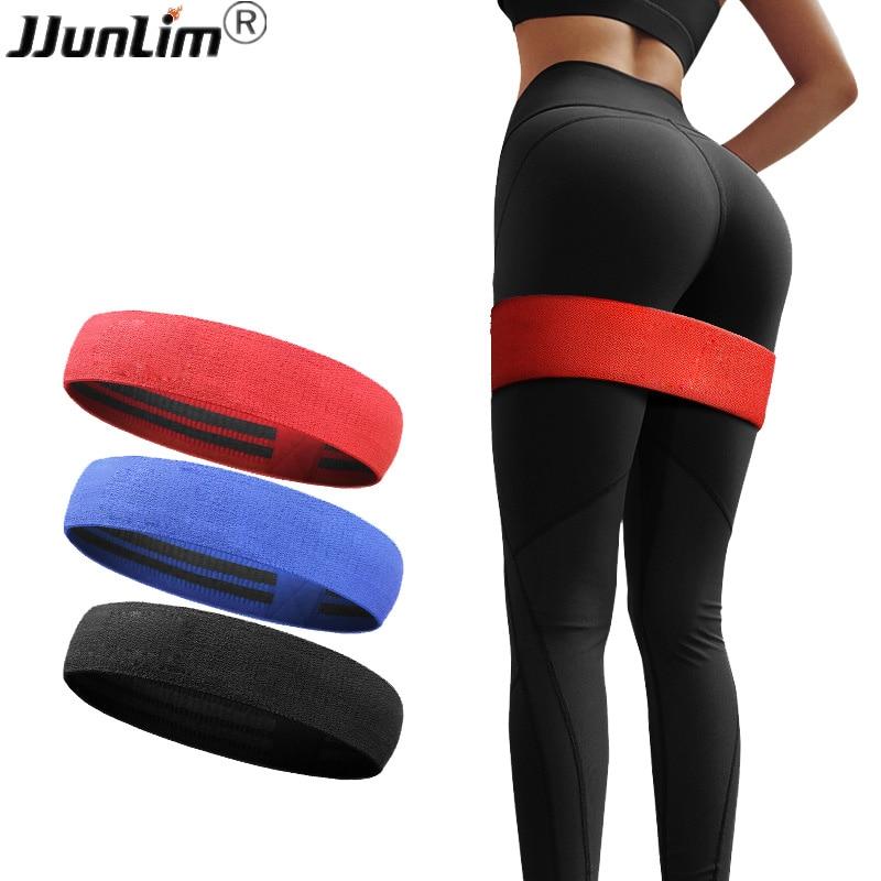 Non Slip Workout Bands: Exercise Resistance Loop Bands Hip Butt Anti Slip Leg Warm