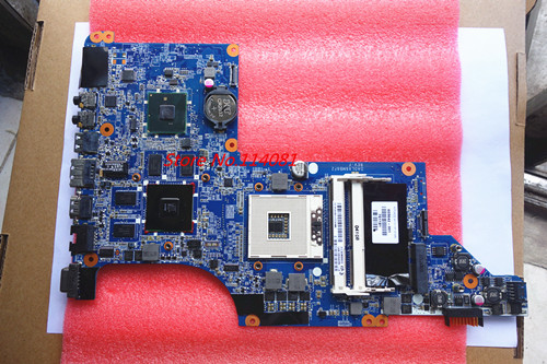 631044-001 Fit For HP PAVILION DV6 DV6-3000 Laptop motherboard DA0LX6MB6H1 HD6550/1G dv6 3000 non integrated motherboard for h p laptop dv6 3000 595133 001
