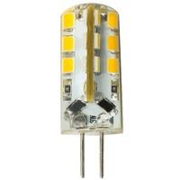 12 СКП. в G4 лампа 24 СМД 2835 супер яркий светодиодный Лампа постоянного тока 12 в 6 вт светодиодные лампы белый /холодный белый сигнал огни, лампы для motocycle