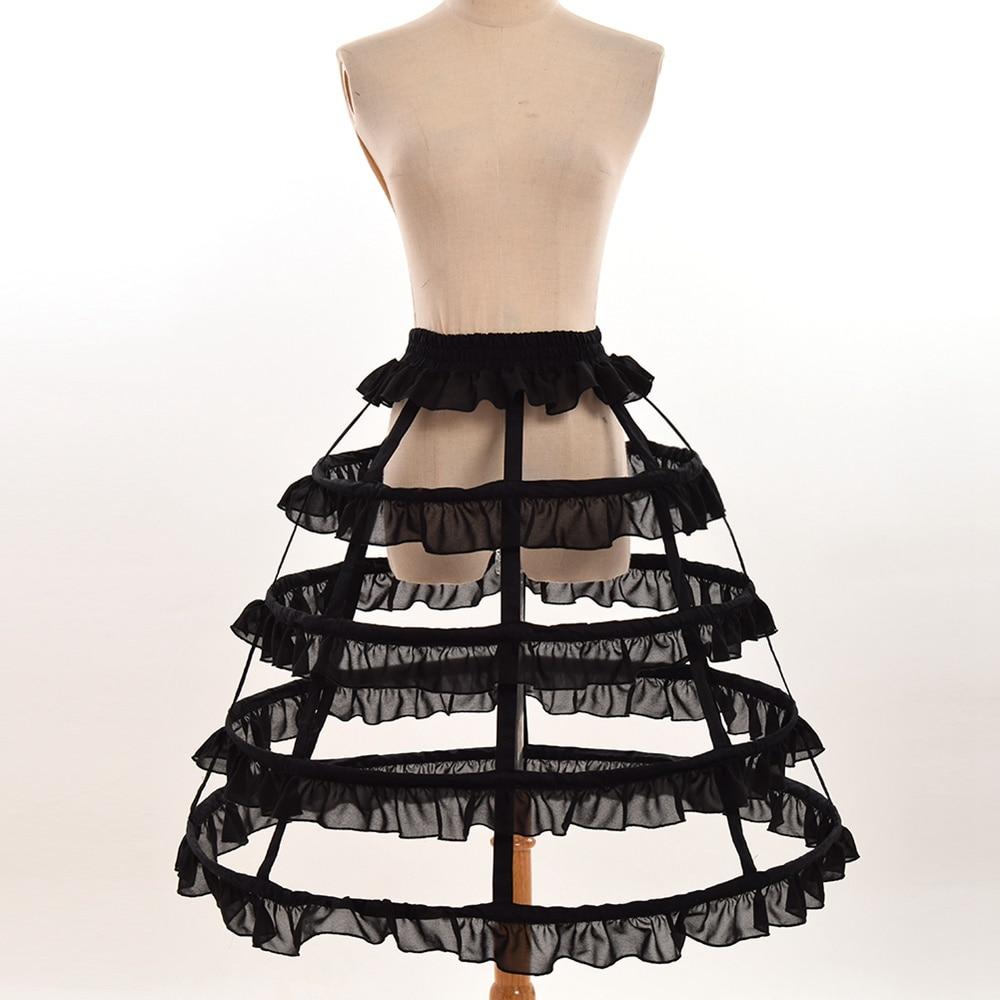 Mujeres Cosplay Vintage Falda medieval Victoriano gótico Lolita - Disfraces - foto 4