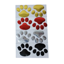Paw Print Car Decals – 5 pairs
