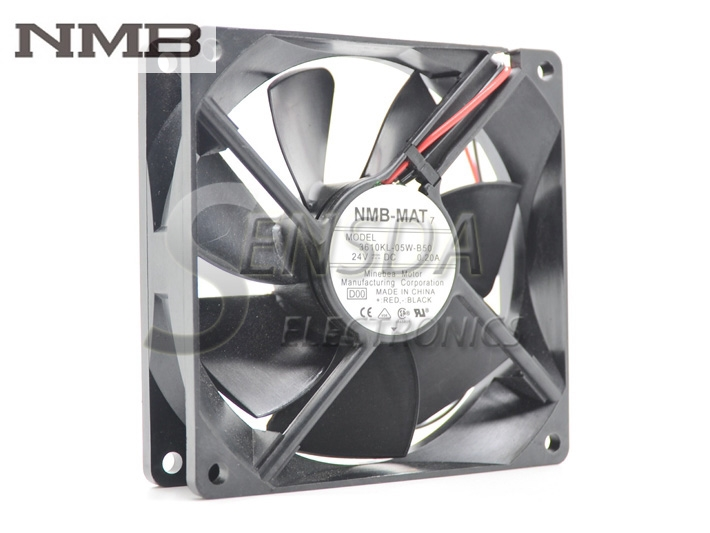 Original NMB fan 3610KL-05W-B50 9225 24V 0.20A 2013 genuine spare parts abb acs800 90 90 38mm 24v 0 32a 2 line waterproof fan pq1 3615 kl 05w b50