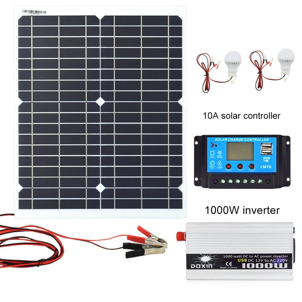 20W 18V solar panel controller inverter