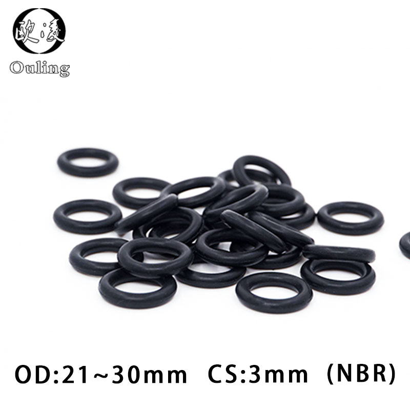 20PCS 18//19//20//21//22//23//24//25//26//27mm x 3.5mm Red Silicon O Ring Oil Seal
