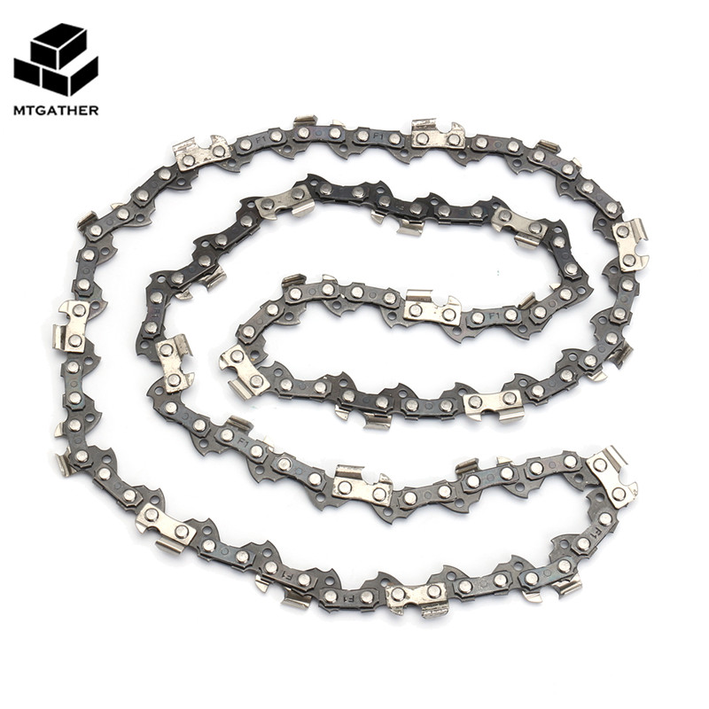 MTGATHER Chainsaw Chain For 16 Inch Chain Saw Bar Pitch 3/8 Inch Gauge 0.05 Inch 56 Drive Rod For Electric Saw 2 pcs gear sprockets drive replacement chainsaw chain drive sprocket 221514 8 for makita 5016b 5012b electric chain saw