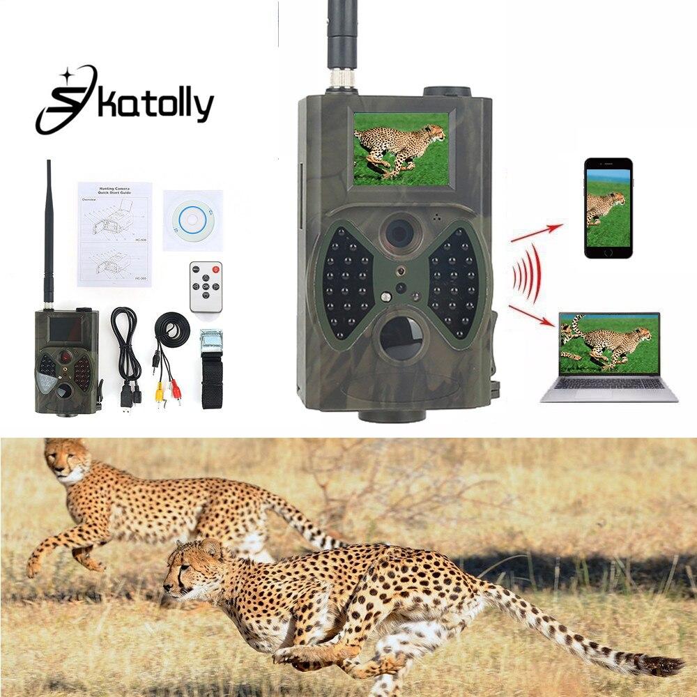 Sktolly HC300M font b Hunting b font Deer Trail Camera HC 300M Full HD 12MP 1080P