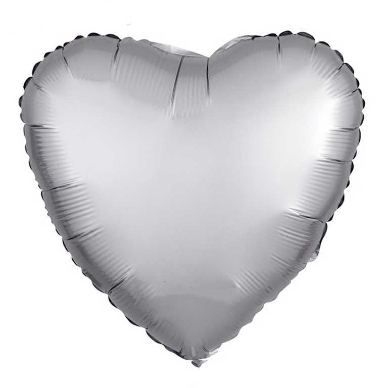 Globos metálicos de helio con forma de corazón de 18 pulgadas, 5 uds. De globos de látex de 3,2g, globos inflables de dibujos animados para fiestas, cumpleaños y bodas