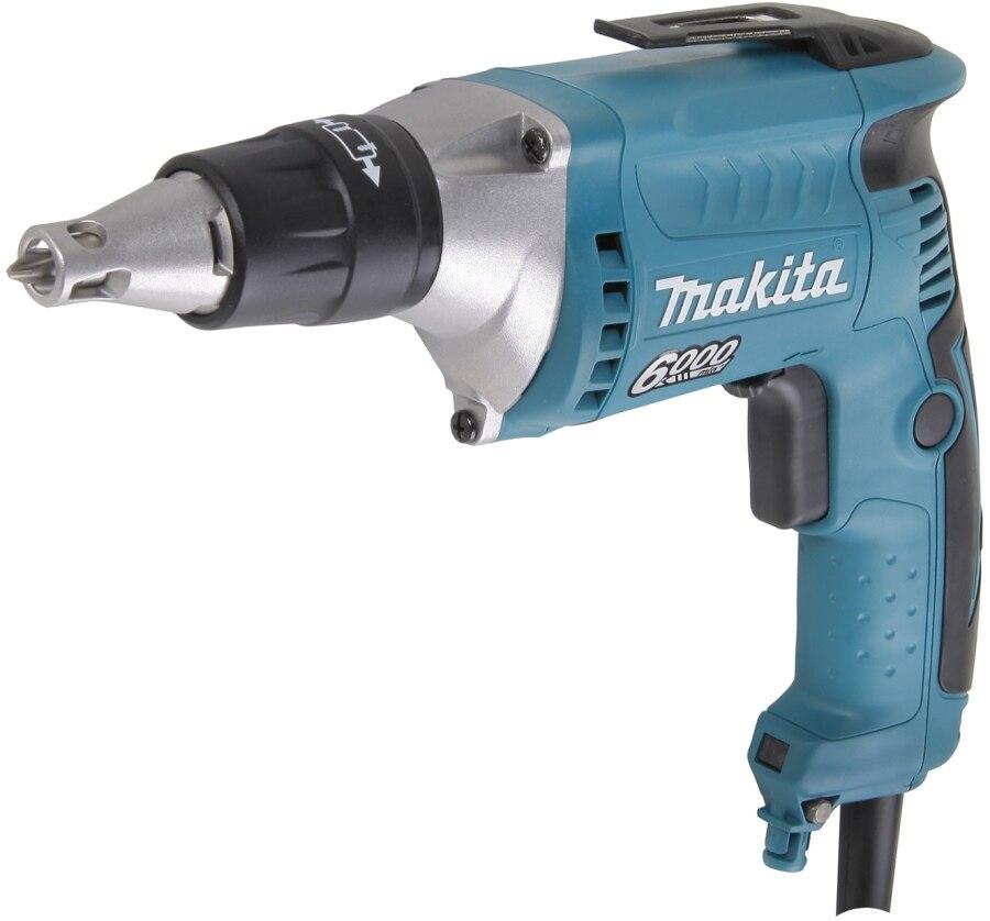 Electric drill screwdriver Makita FS6300 (Power 570 W speed 6000об/min, reverse) electric drill screwdriver diold эш 0 56 2 power 560 w 2 speed reverse