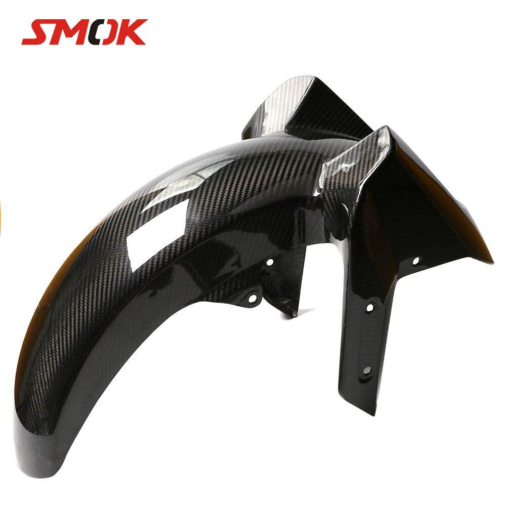SMOK moto en Fiber de carbone avant garde-boue garde-boue garde-boue Protection pneu Hugger pour Yamaha Tmax 530 T MAX 530