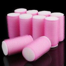 Self-Adhesive Sponge Hair Rollers 10 pcs Set