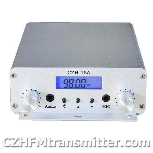 Free shippping 10pcs 15W V1.0 FM stereo PLL broadcast transmitter