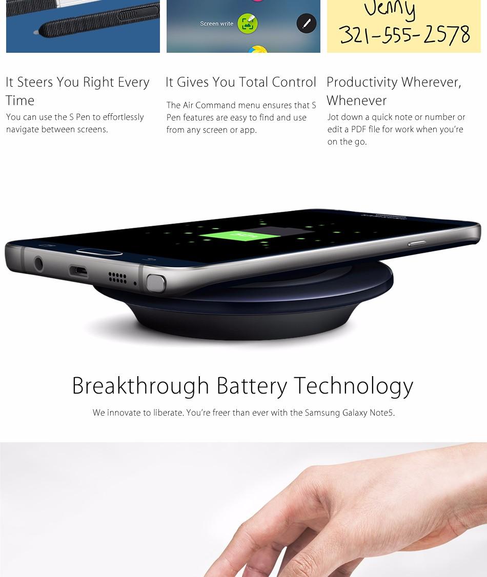 Unlocked smartphone 5.7 Note 4