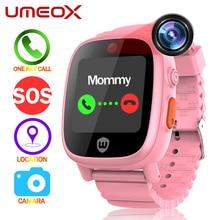 UMEOX Смарт-часы для детей K7 gps Смарт-часы Водонепроницаемый Android IOS с фото SOS помочь Цвет Сенсорный экран телефона часы