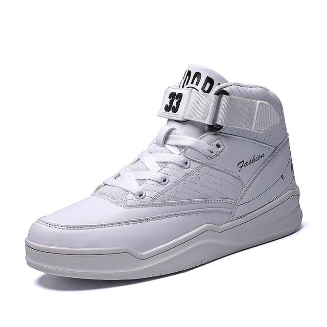 Для мужчин скейтборд обувь на шнуровке модные мужские туфли на плоской подошве 2018 Лидер продаж Мода Пара граффити с высоким берцем женская обувь размер 36–44