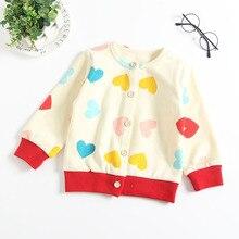 Зимняя одежда для маленьких девочек бархатный утеплитель с длинными рукавами и принтом «любовь», детский зимний пиджак с одиночной пуговицей, casaco infantil, 12 M, 18 M
