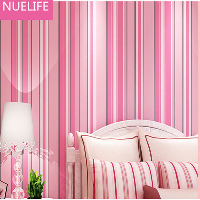 053x10Meter Geometric Colorful Vertical Striped Pattern Wallpaper Living Room Bedroom Wedding Boy Kids House