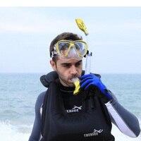 Professional Scuba Snorkeling Mask Set Men Women Antifog Swimming Snorkel Diving Mask Underwater Swimming Eyewear