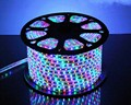 50 meter SMD 5050 AC220V RGB LED Strip Flexible Light 60 led/m Waterproof Led Tape LED Light With Power Plug