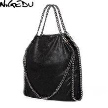 2ee322b9bc507 NIGEDU Women Bag PU Leather Fashion Chain Women's Messenger Shoulder Bags  Bolsa Feminina Carteras Mujer handbags