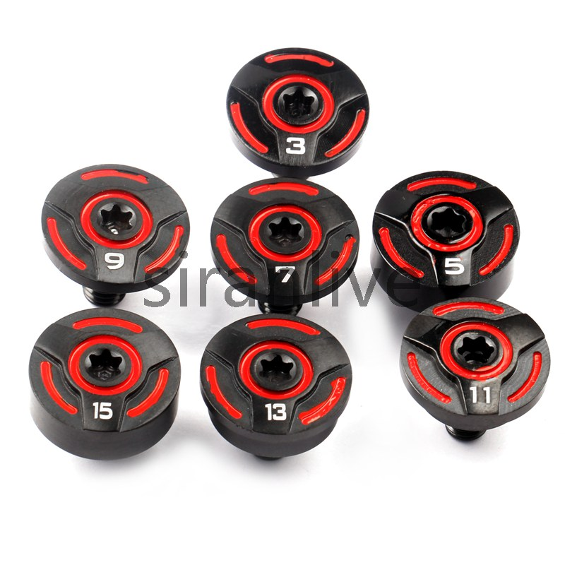 New Red Golf Weight 3g/5g/7g/9g/11g/13g/15g For Callaway RAZR FIT X-Treme Series Driver And Wood