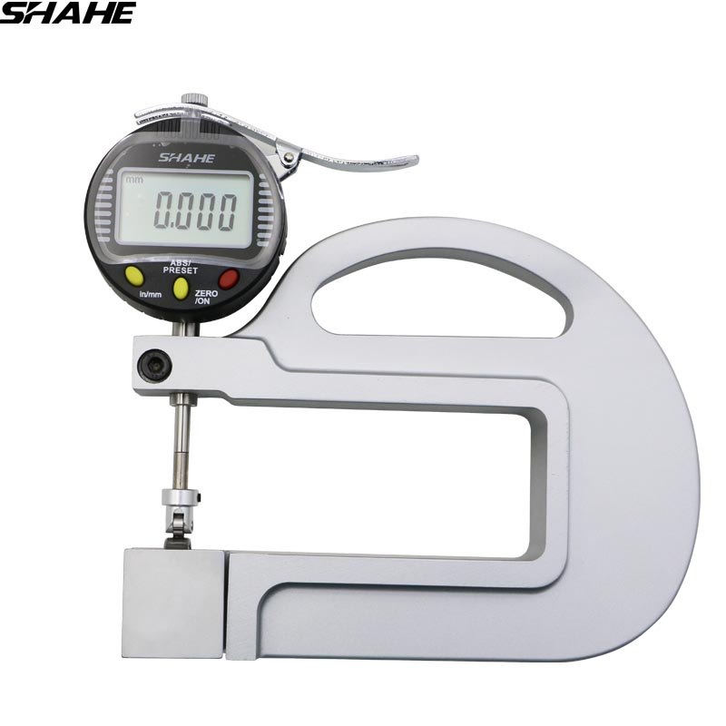 High Quality Digital Thickness Gauge with roller insert 0.001mm paper thickness gaugeHigh Quality Digital Thickness Gauge with roller insert 0.001mm paper thickness gauge