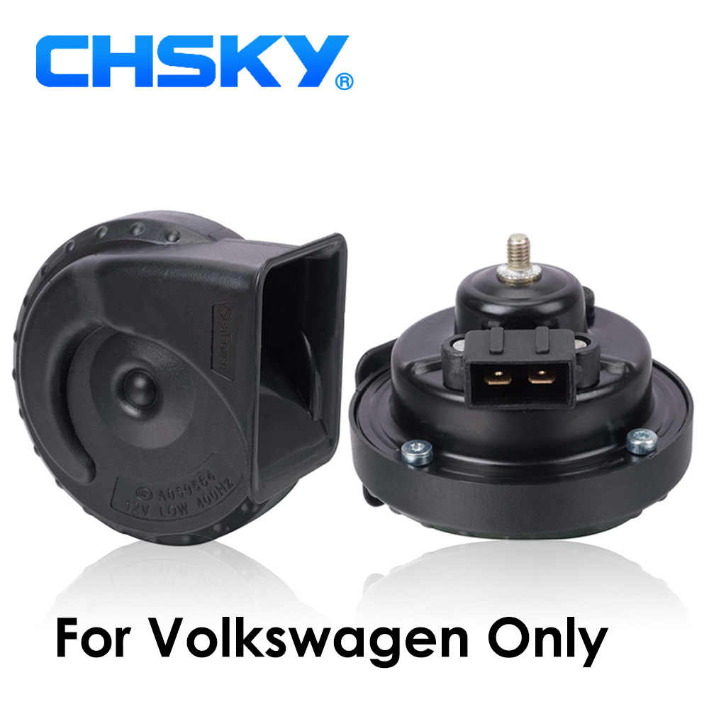 CHSKY Special for Volkswagen horn 12v For VW Passat Golf Polo Jetta Bora  Caddy car claxon loud more that 129db car styling