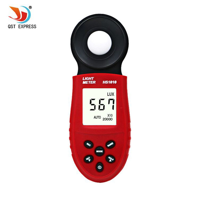 <font><b>HS1010</b></font> New 200,000 Lux Digital Light Meter Luxmeter Meters Luminometer Photometer Lux FC image