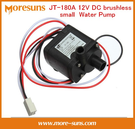 JT-180A 12V DC brushless small pump computer WaterBlock submersible pump long lifetime mute with speed measurement Water Pump jt 800b 900l h 7m booster pump 12v dc brushless water pump submersible fountain self priming pump 24v