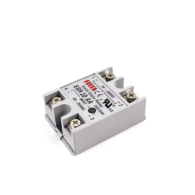 YJCAL Solid State Relay SSR-10AA SSR-25AA SSR-40AA 10A 25A 40A AC Control AC Relais 80-250VAC TO 24-380VAC SSR 10AA 25AA 40AA
