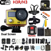 Original Remote Action Camera EKEN H3R H3 Ultra 4K Wifi Dual ScreenVideo Camera 170 Degree Lens