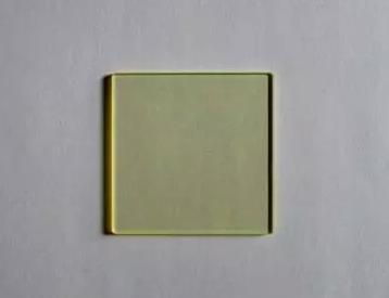 Ультрафиолетовый отсекающий фильтр Золотое стекло проходит через 200*150*3 мм до и после 420нм отрезной