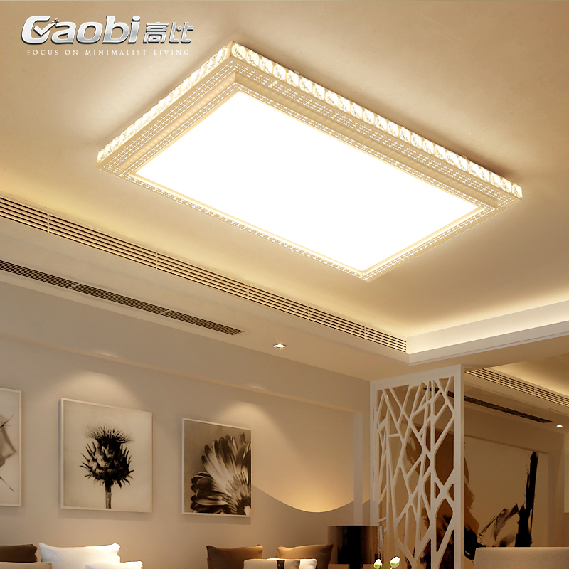 LED Modern living room ceiling lamps Novelty Acrylic ceiling lights crystal bedroom Fixtures dining room ceiling lighting цена 2017