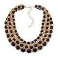 New Bohemia Statement Choker Fashion Charms 100% Handmade Turquoise Natural Stone Gem Necklaces&Pendants Women Fine Jewelry