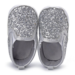 2019 Newborn Girls Boys Crib Shoes Soft Sole Anti-slip Baby Sneakers Sequins Shoes Toddler Shoes Baby Shoes