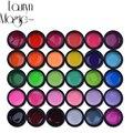 Venta Caliente de alta Calidad 30 Puro de La Mezcla Colores Ollas UV UV Gel Nail Art Puntas de DIY Decoración de Uñas de Manicura Gel