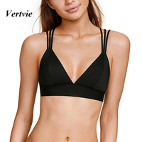 Vertvie Professional Women Sports Bra Breathable Gym Running Tops Sexy Backless Wear Fitness Brassiere Push Up