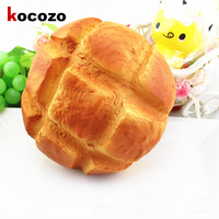 8cm SquishyJumbo Slow Rising Simulation Pineapple Bun Squeeze Toys For Cell Phone Key Kawaii Squishy Bread
