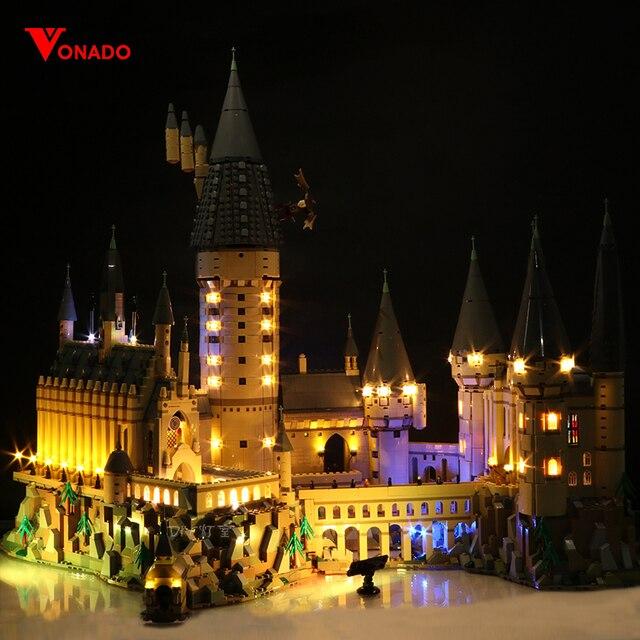 Led Light Set Compatible For Lego 71043 Harry Movie 16060 creator Hogwarts Castle Building Blocks Bricks Toys (Only LED lights)