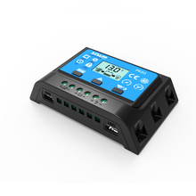 1pc x 10A PR3010 12V/24V LCD PWM Solar Panel Charge Regulator Battery Controller with two USB 5V Charger Backlight