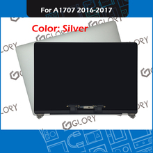 Silver A1707 LCD Screen full assembly 661-06376 661-08031 for Macbook Pro Retina 15″ Touch Bar A1707 Display 2016 2017 Year