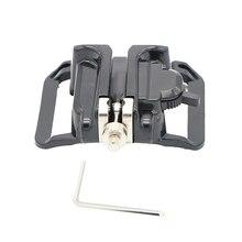 SLR Camera Waist Hang Dismantling Board Strap  Convenient Fast Belt Hand Buckle convenient retractable buckle strap with clip color assorted