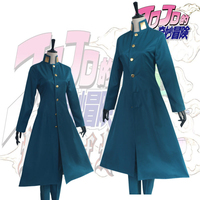 Anime JoJos Bizarre Adventure Cosplay Costumes Kakyoin Noriaki Cosplay Costume Halloween Party Uniform JoJo no Kimyou na Bouken
