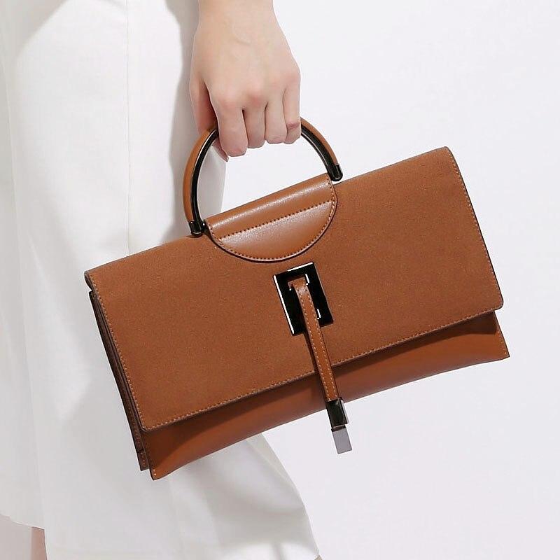 Здесь можно купить  Vintage Solid Color Handbag Split Leather Zipper Hasp Fashion Top-handle Bags Women Party Shoulder Crossbody Bag Birthday Gifts  Камера и Сумки