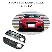 Front Left/Right Lower Bumper Car Fog Light Cover For Audi A5 fog lamp Vent Grille Side Insert Grille for Audi A5 2009 2010 2011