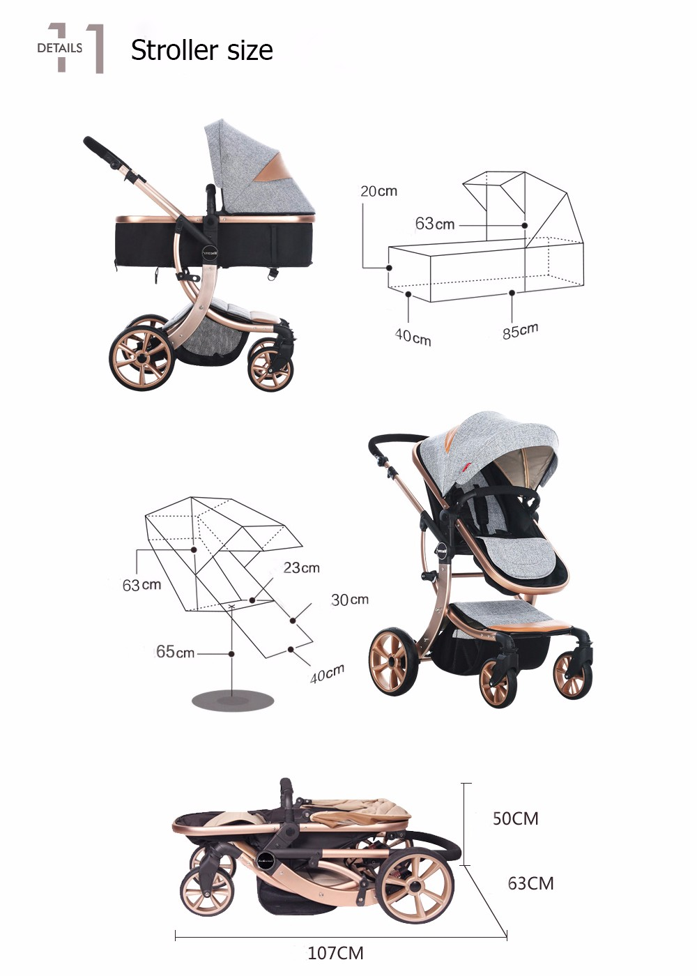 China stroller lightweight Suppliers
