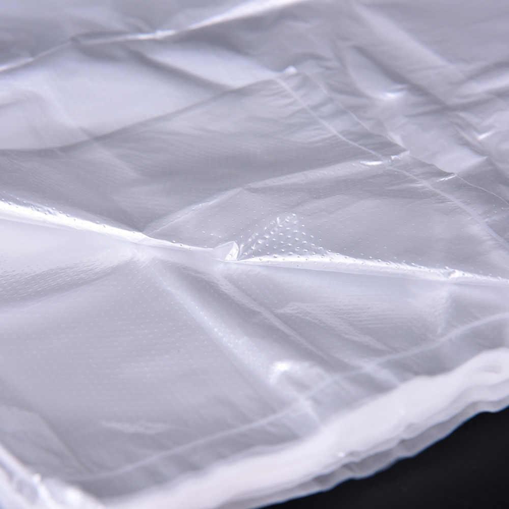 46/52/55/100 حقائب تسوق للبقالة سوبر ماركت حقائب بلاستيكية مع مقبض تغليف المواد الغذائية