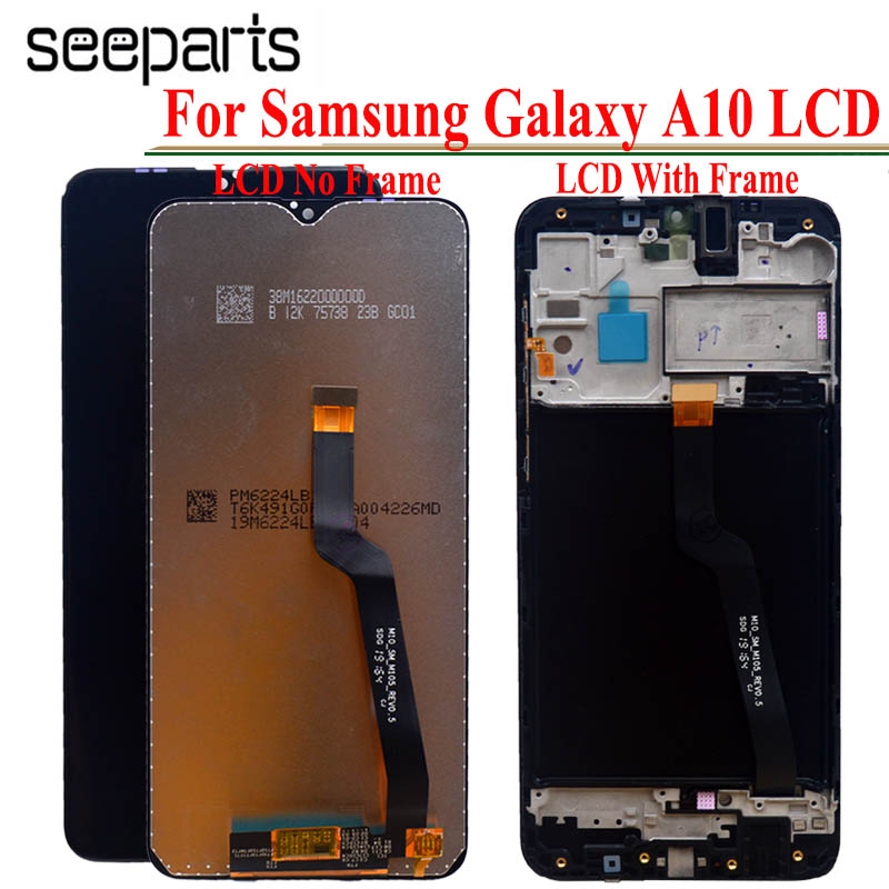 100% Tested Working For Samsung Galaxy A10 LCD Touch Screen Digitizer Assembly For Samsung A10 LCD SM A105F LCD A105F/DS LCD image