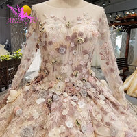 AIJINGYU Wedding Dresses Belts Derss Satin Ball Costume Belts Imported Rustic Brides & Gown Wedding Dress