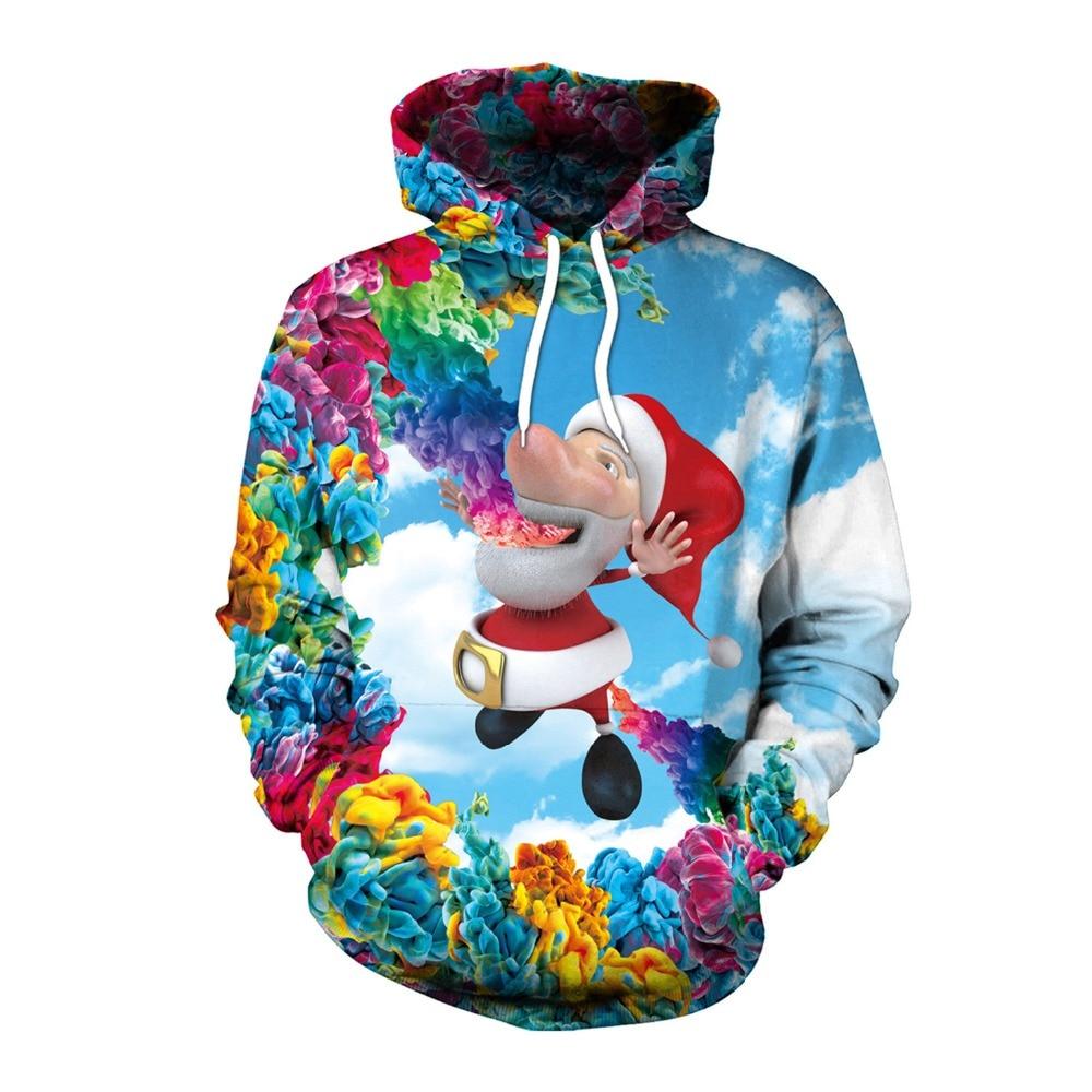 New Christmas hoodies Snow Man Cosplay Costume Hoodies Sweatshirts 3D Printing Unisex Adult Clothing